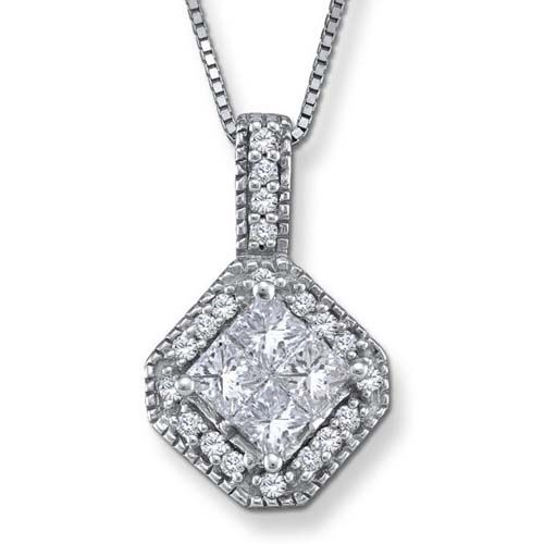 Round Diamond Pendant Necklace If you like to look at great jewelry df7d4ac52dce