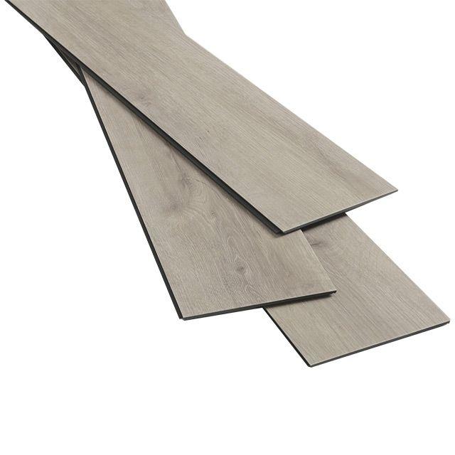 Lame vinyle PVC décor bois naturel 122 x 18 cm Hina - CASTORAMA