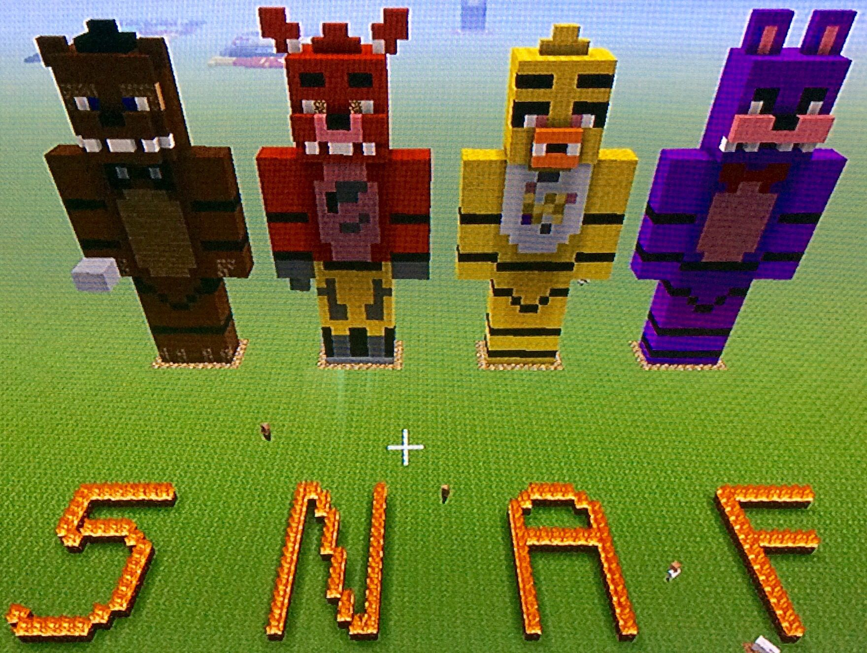 Five Night At Freddy's minecraft | jacob | Five nights at