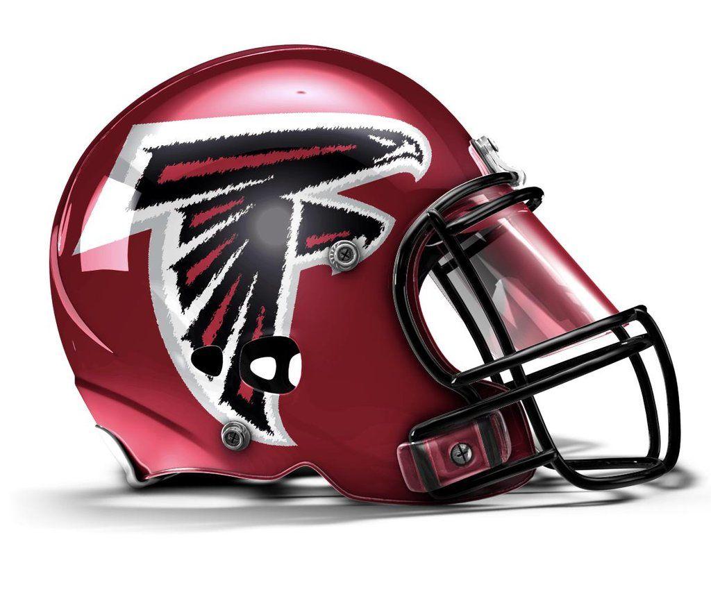 Nfl Concept Helmets Football Helmet Design Football Helmets Atlanta Falcons Helmet