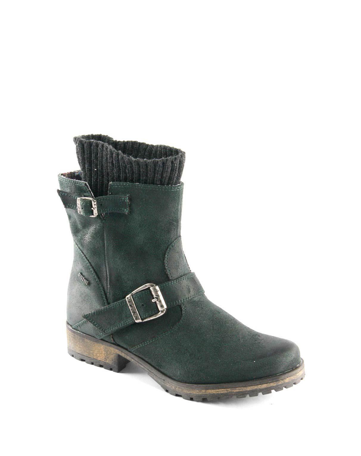 e356e73d 50722-bota-mujer-antelina-verde-mtng-mustang-01 | BOTAS CASUALES ...