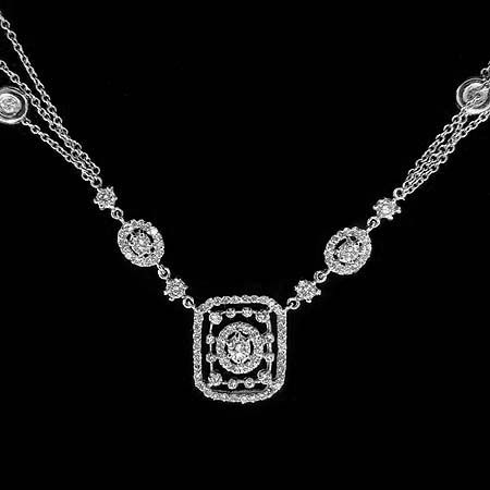 Vintage style diamond necklace yes yes yes jewelry for me vintage style diamond necklace yes yes yes mozeypictures Image collections