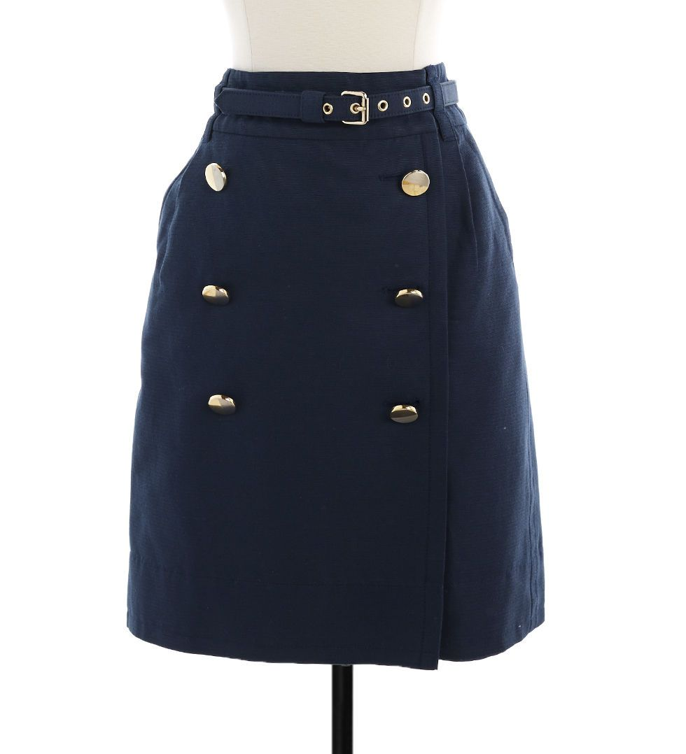 navy-style skirt | Marc by Marc Jacobs....such a deal!