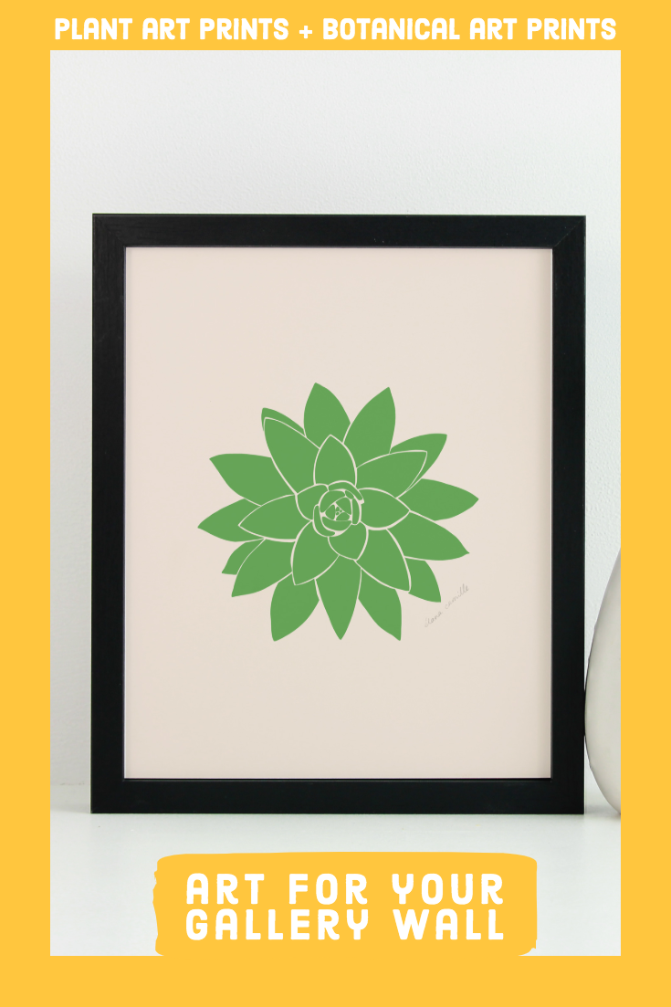 Plant art prints & Botanical art prints for your home
