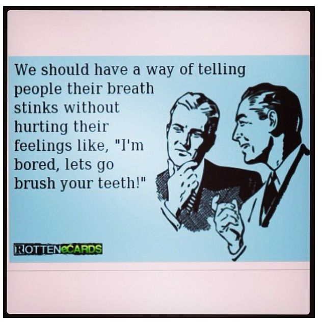 Humor Bad Breath Ecard