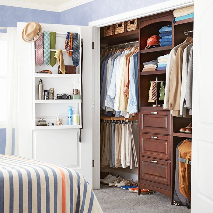 Customize your own allen + roth closet organization system to