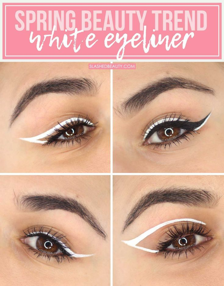 How to Wear White Eyeliner Looks for Spring | Slashed Beauty