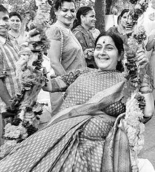 Very Susma swaraj nude