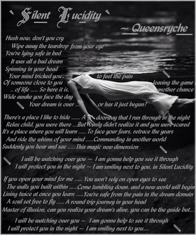 Silent Lucidity By Queensryche Such A Beautiful Song Music