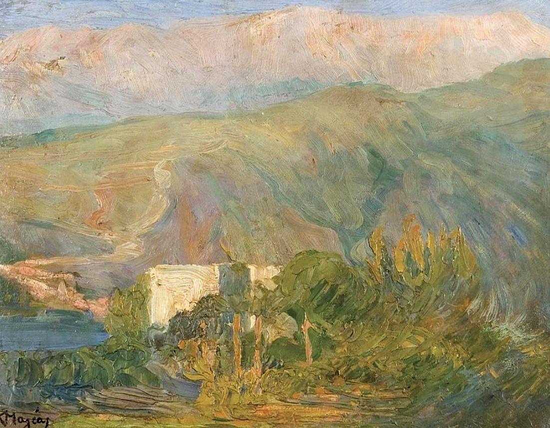 Lebanon Konstantinos Maleas Art Elegant Homes Art Painting