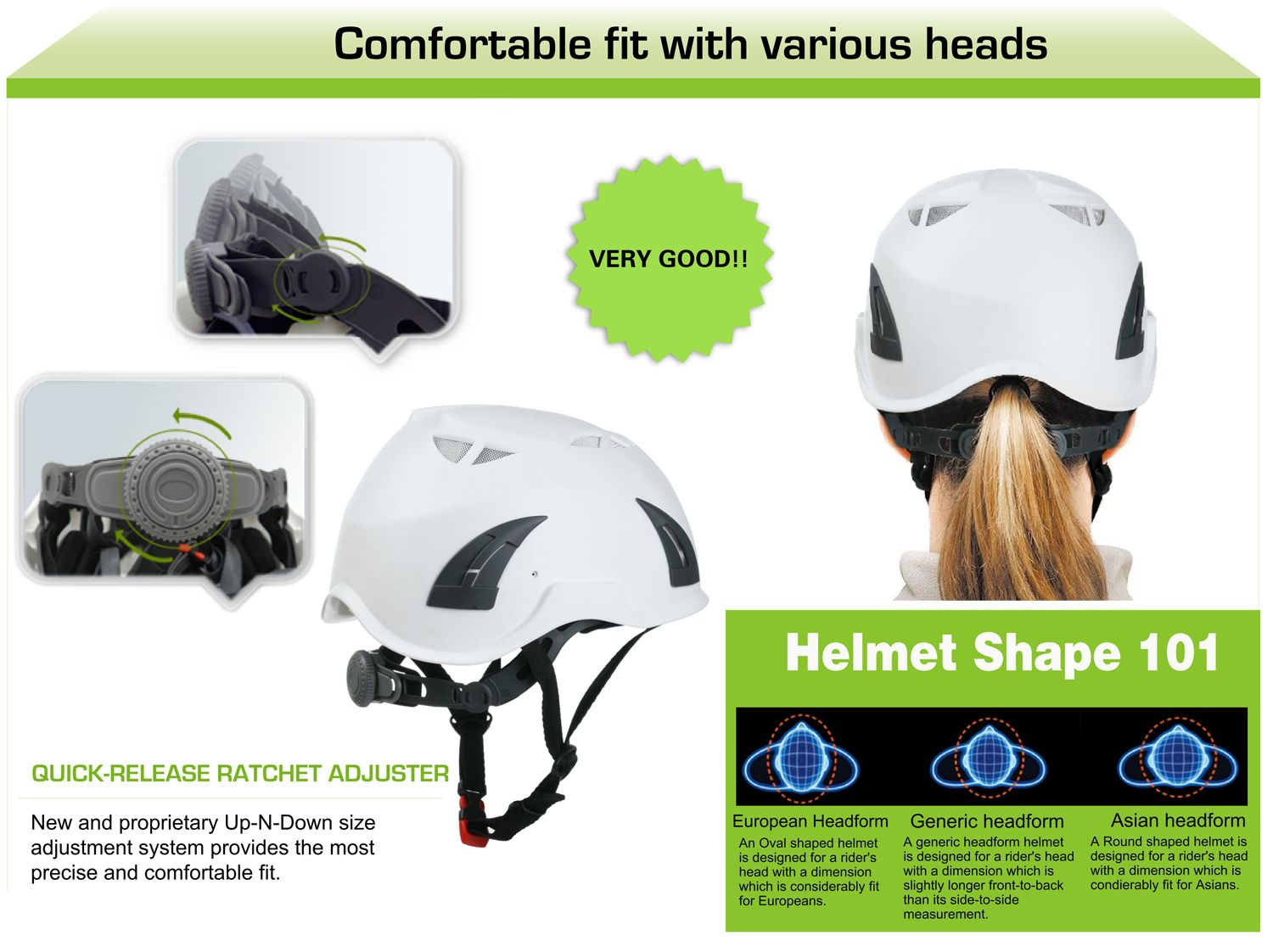 Comfortable Patent Adjuster For Au M02 Safety Helmet It Can Be Fit