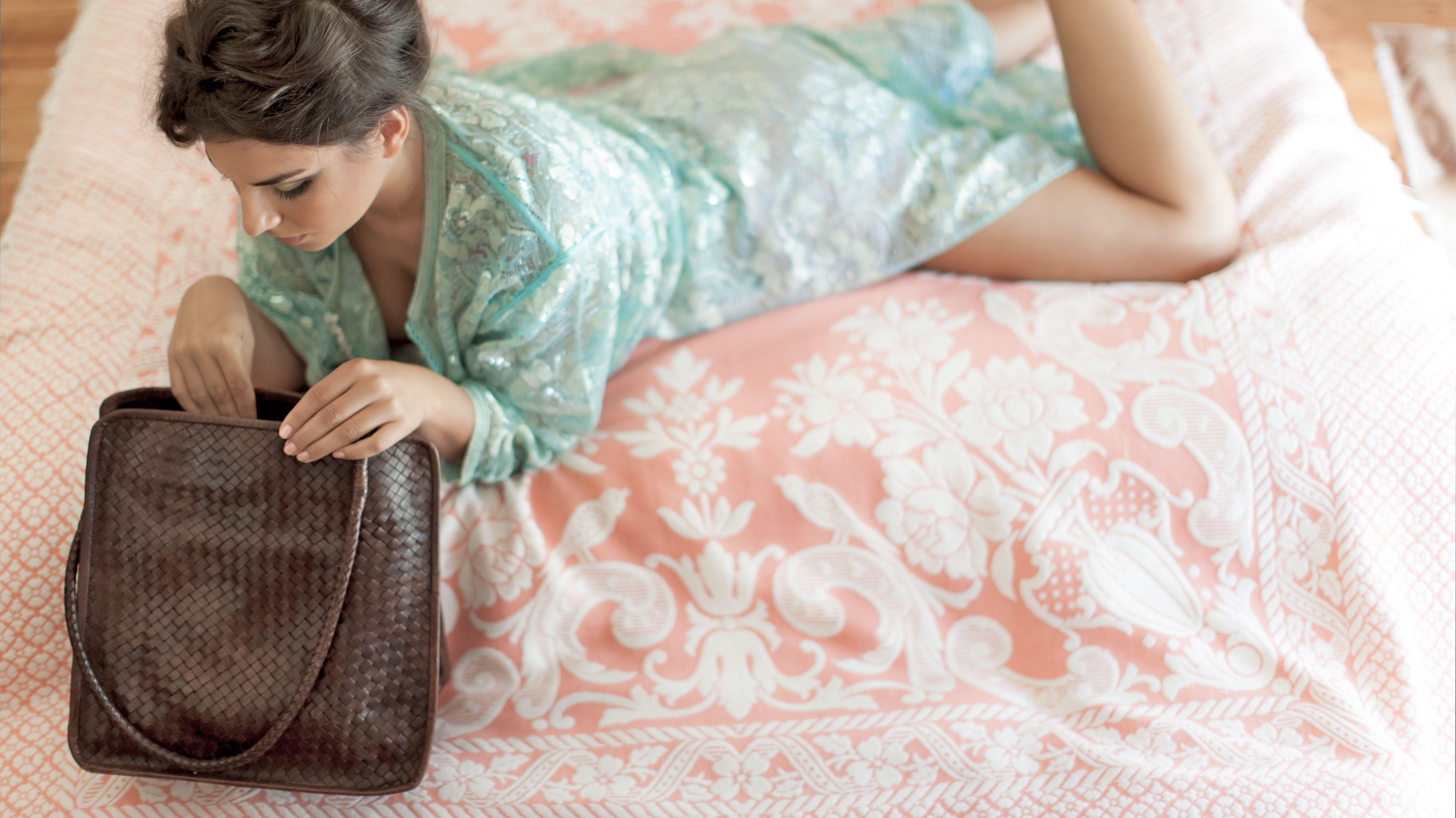 HAZEL Brigitte Braided Bag Chocolate  From 'Riding to the Kasbah' range www.hazelaccessories.com