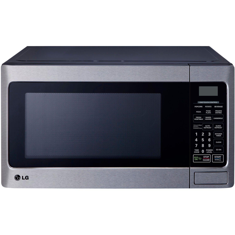 Lg Lcs1112st Countertop Microwave Oven 1000 Watt Stainless Steel