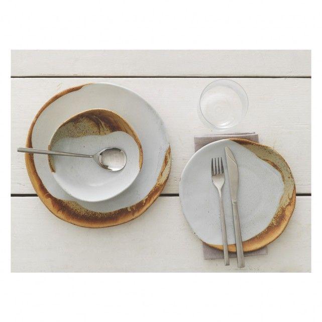 Habitat ELZORA 12 Piece Dining Set   £70 Elzora Dinnerware Is A Distinctive  Design That