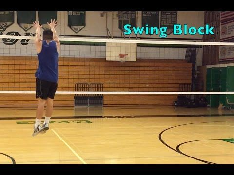 Middle Blocker Footwork How To Block A Volleyball Tutorial Part 1 X2f 2 Youtube Coaching Volleyball Volleyball Training Volleyball Workouts