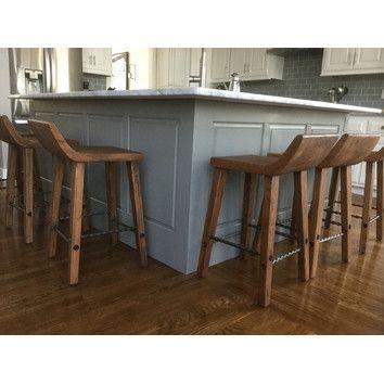 Magnificent Kosas Home Reagan Low 24 Bar Stool Reviews Wayfair In Creativecarmelina Interior Chair Design Creativecarmelinacom