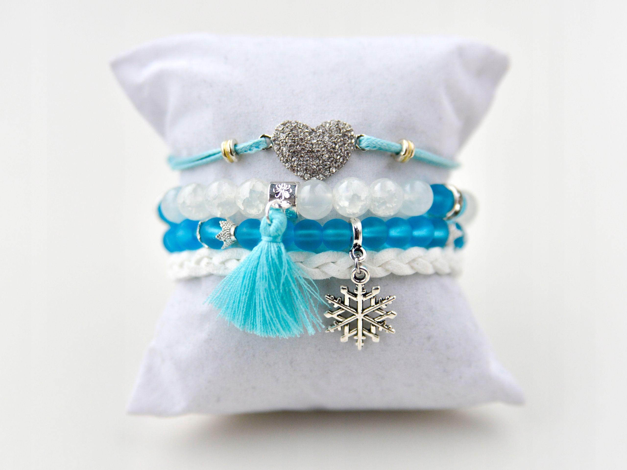 Swieta Zestaw 4 Bransoletki Multi Koraliki Chwost 7714579892 Oficjalne Archiwum Allegro Tassel Necklace Jewelry Beads