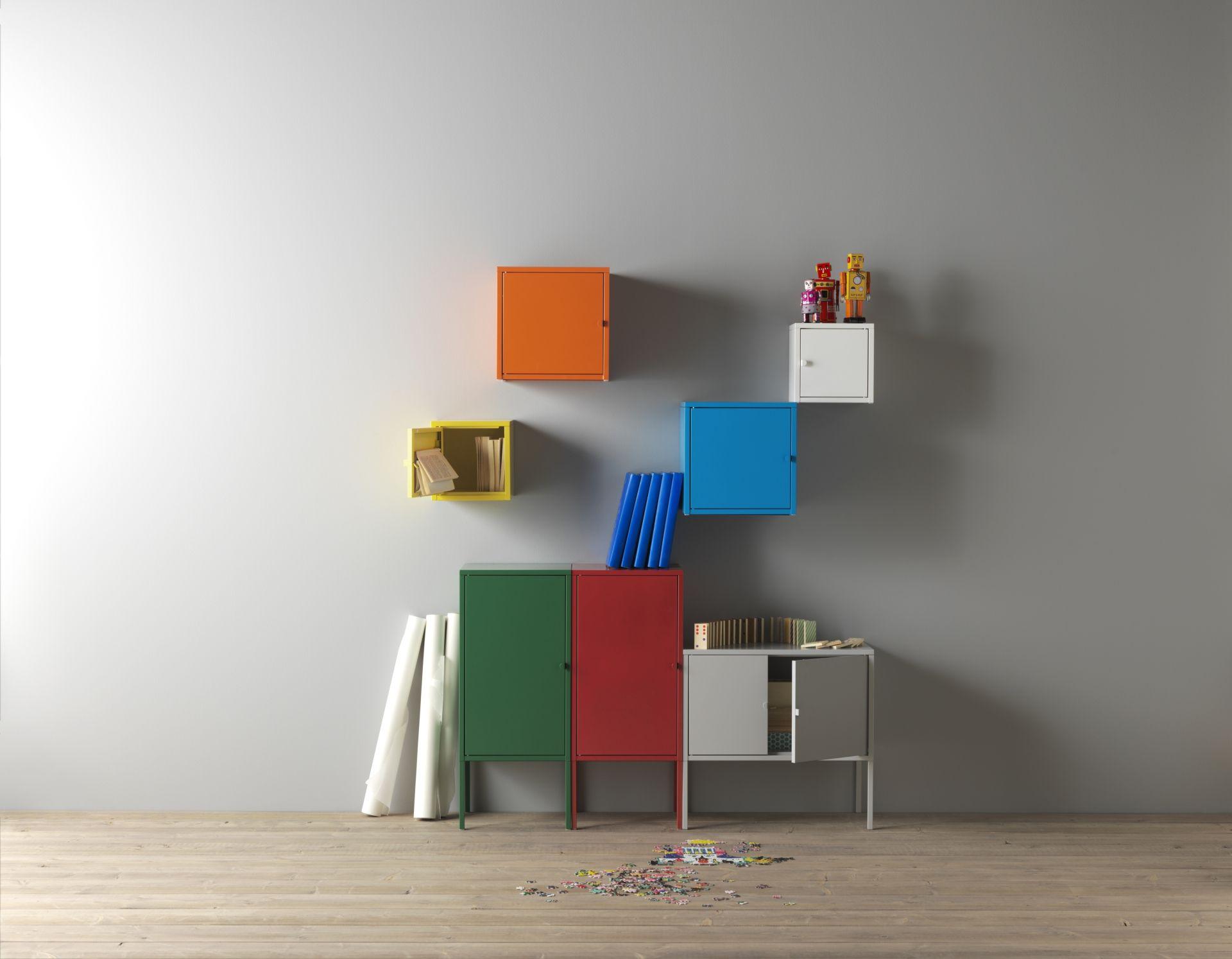 LIXHULT Kast metaal wit  Savannah  Designdroom  Ikea