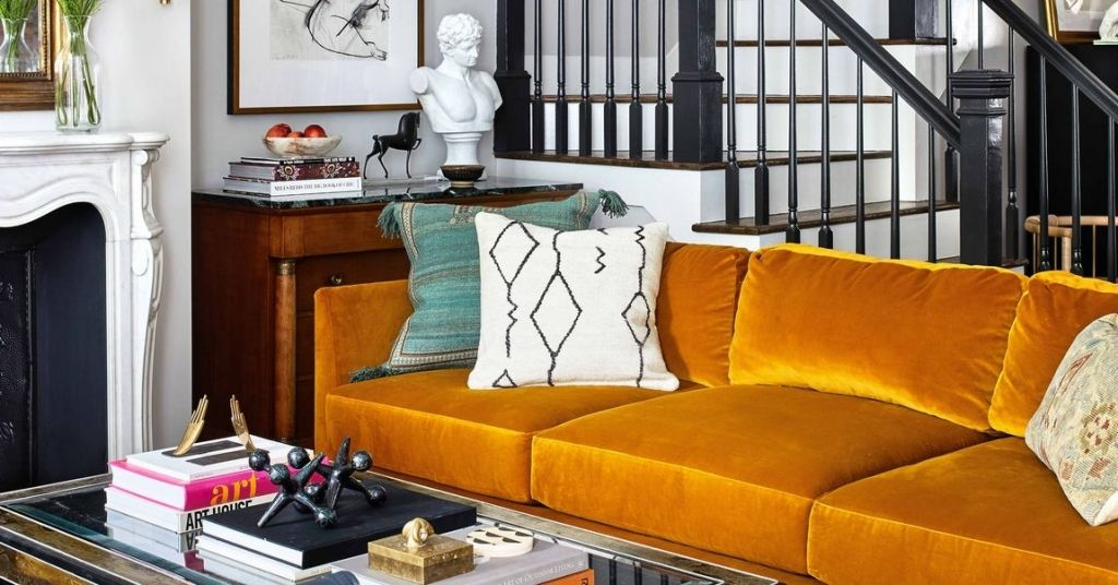 A Historic D C Home Is Enlivened With Vintage Furniture And