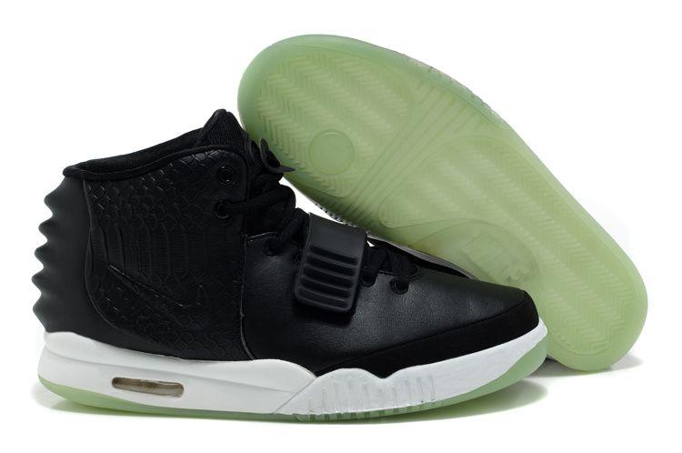 Mens Air Yeezys Black II shoes