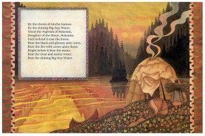 hiawatha poem for kids