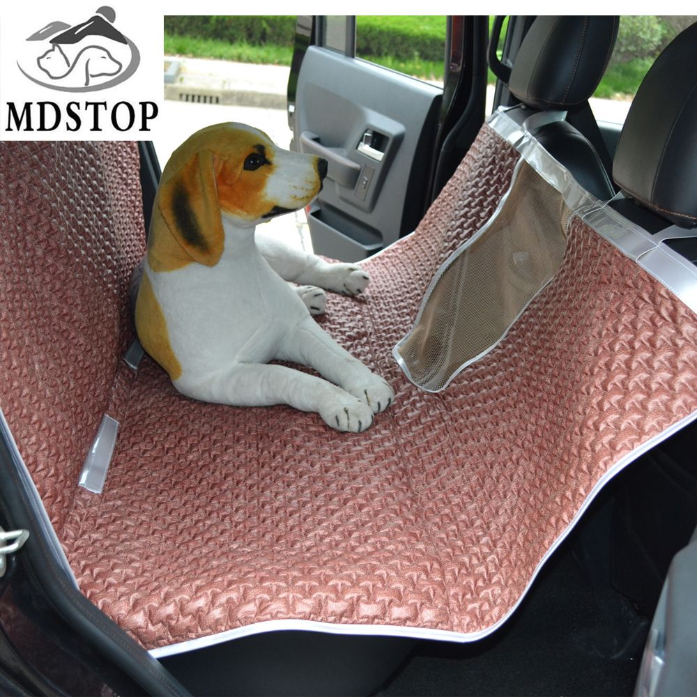 hammock nonslip updated pet version pets topelek car bench backseat proof product seat anchors coversuniversal scratch with protectortravel dog cover safety waterproof