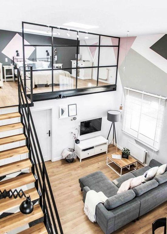 36 Desain Interior Rumah Minimalis Dengan Lantai Mezzanine 1000 Inspirasi Desain Arsitektur Teknologi Konstruksi Desain Interior Desain Interior Rumah Rumah