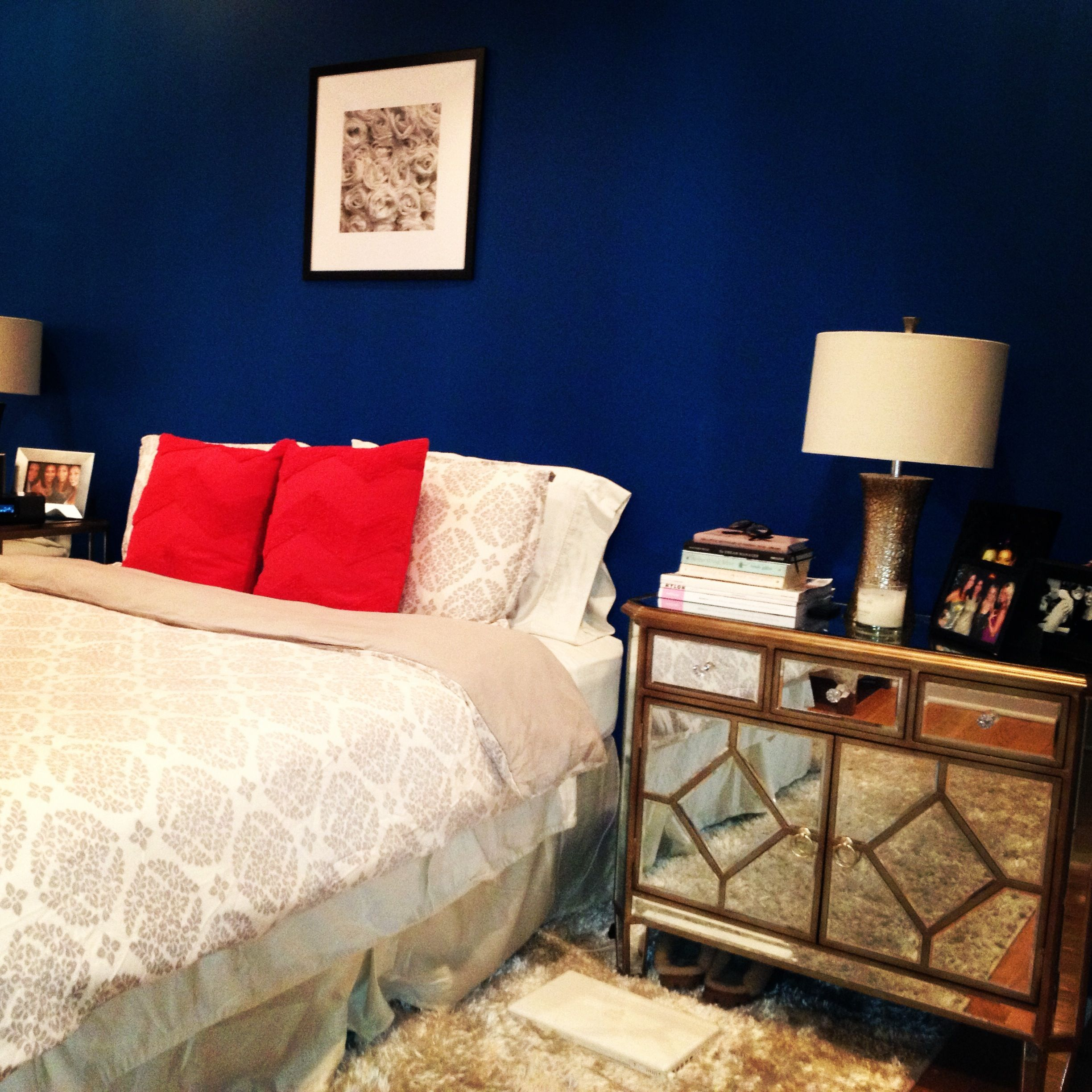 Accent Wall Sleight Blue: Blue Accent Walls, Home Decor, Decor