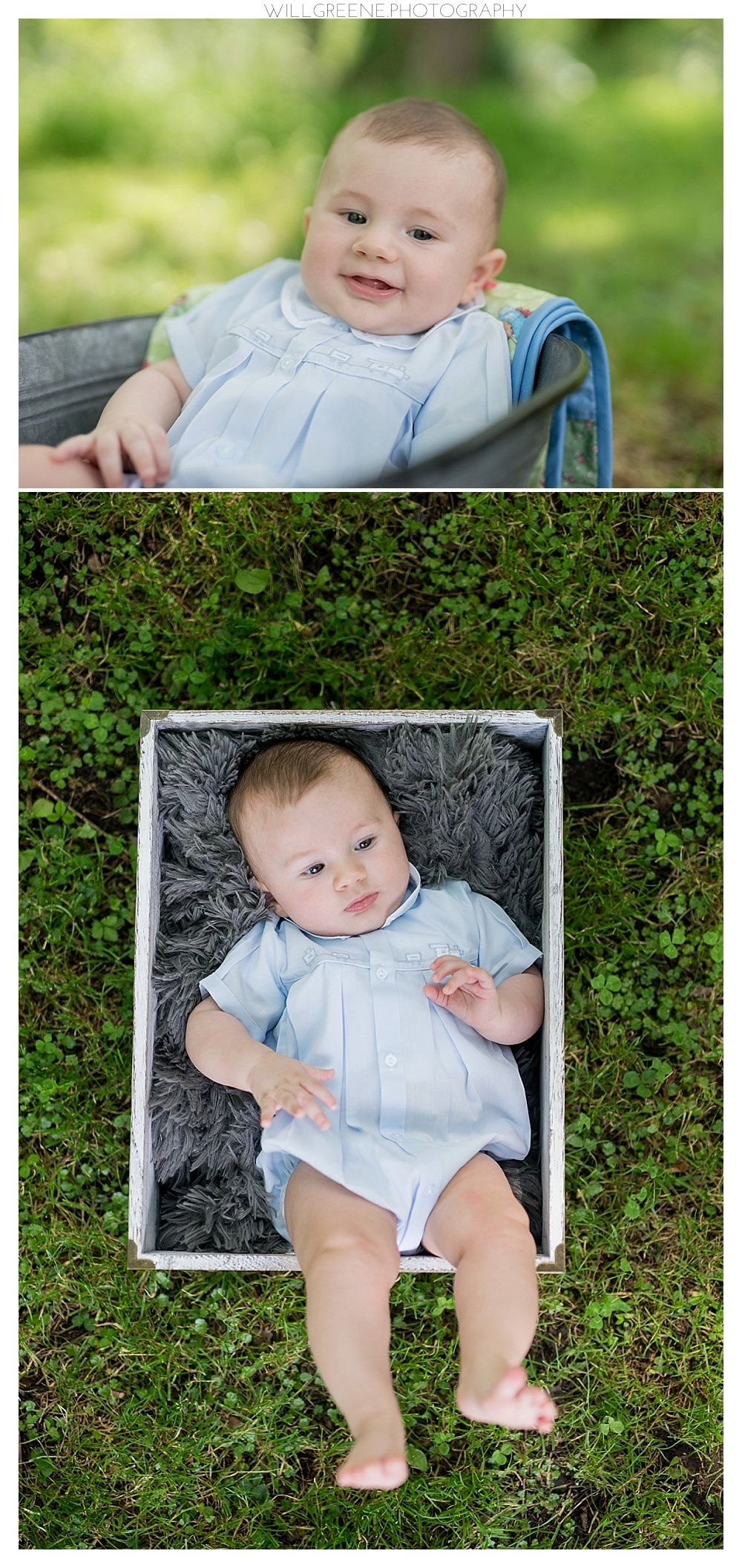 Benjamin's 3 month session, Greenville NC, Will Greene Photography