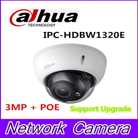Dahua 3 megapixel full HD mini dome camera IPC-HDBW1320E new model replace IPC-HDBW4300E,Free shipping