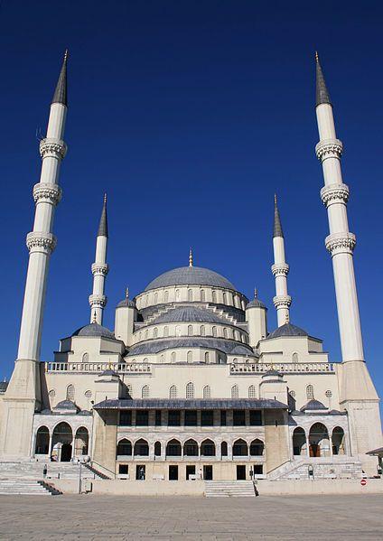 Kocatepe Mosque, Ankara. Turkey