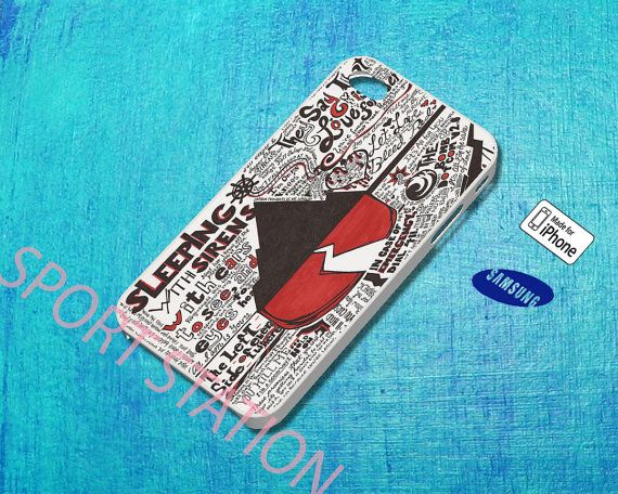 Sleeping With Sirens Collage Arts Case for iPhone by SportStation, $13.99