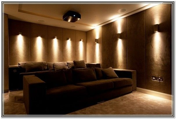 The Living Room Theater Decoration Glamorous Design Inspiration