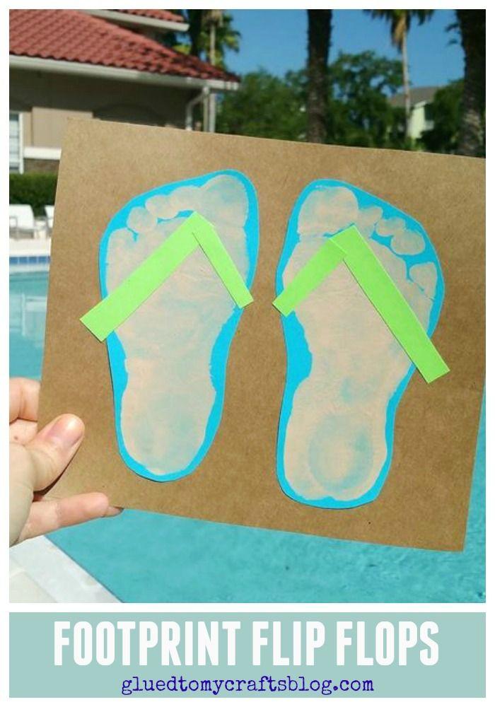 Handprint Footprint Art For Kids Roundup Glued To My Crafts