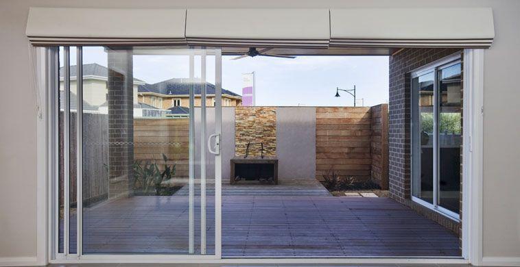 Stacker Door with blinds & Stacker Door | Door Types | Pinterest | Doors Door coverings and ...