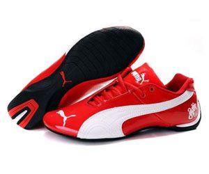 Men's Puma Michael Schumacher ( Red / White ) | New style ...