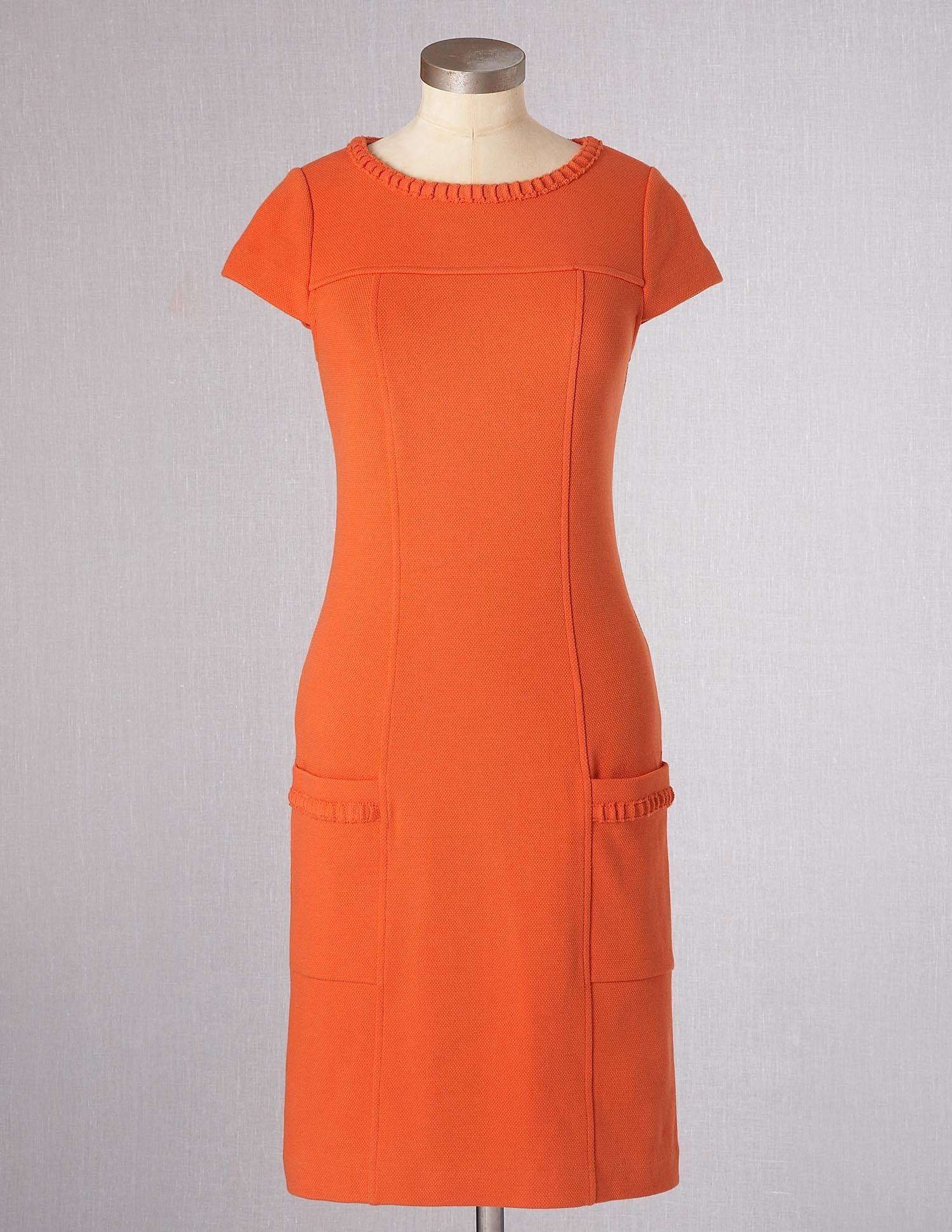 Summer Ponte Dress Boden Dresses Pinterest Boden Summer And