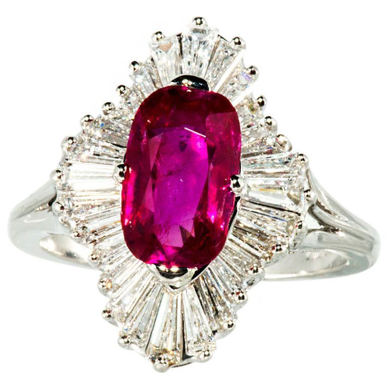 Burmese Ruby And Diamond Ring Favorite Jewelry Pieces In 2018