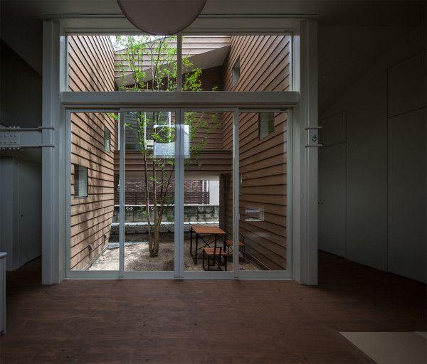 A Modern Japanese House With A Surprise Garden Inside   Pinterest ...