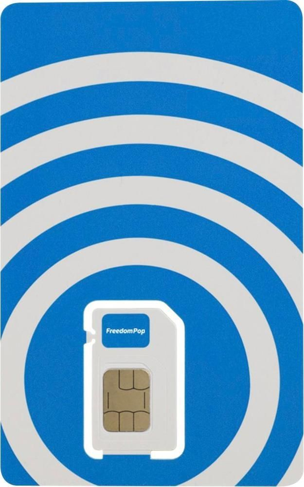 FreedomPop - Global 3-in-1 SIM Card | Products | Sims, Cards