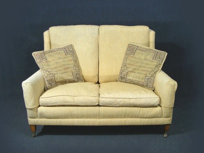 John Lewis Armchair Covers Unterschied Chair Stool This Is A Wonderful Duresta Two Seater Settee Sofa Beautiful Light Yellow Textured ...