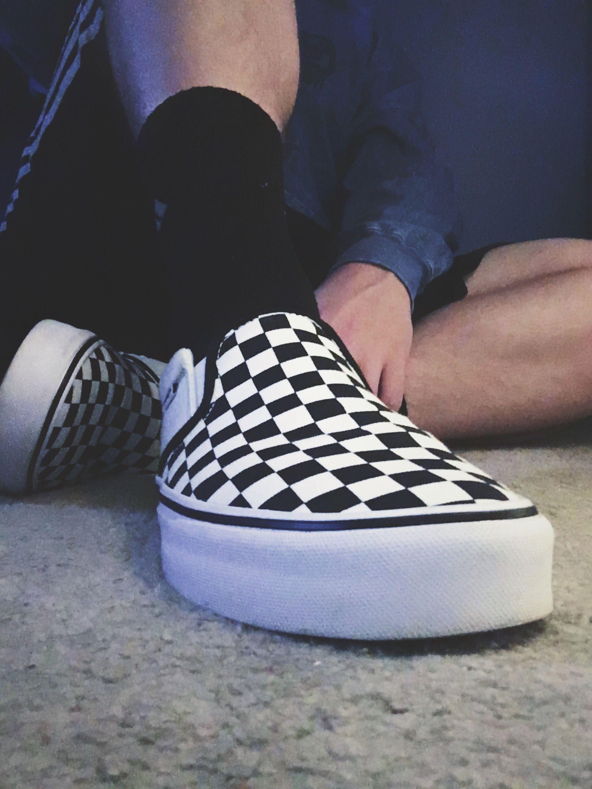52421100ac checkered vans life