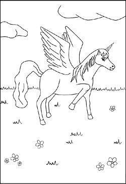 Malvorlagen Und Ausmalbilder Von Einhorn Und Pegasus Malvorlagen Malvorlagen Zum Ausdrucken Ausdrucken