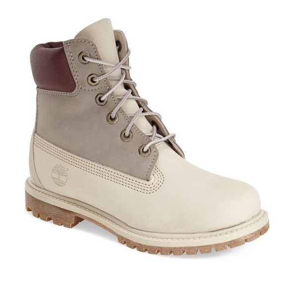 Timberland 6 Inch Premium Waterproof Boot 1 1 4 Heel 160 Liked On Polyvore Featuring With Images Womens Waterproof Boots Timberland Boots Timberland Boots Outfit