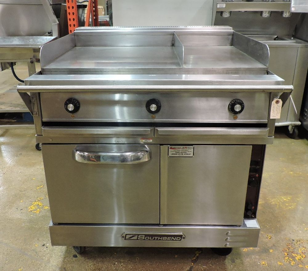 Southbend TVES/10WC Commercial Electric Convection Oven With Split ...
