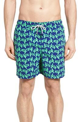dcb02d4878 TOM & TEDDY Designer Turtle Print Swim Trunks | Clothing > Swimwear ...