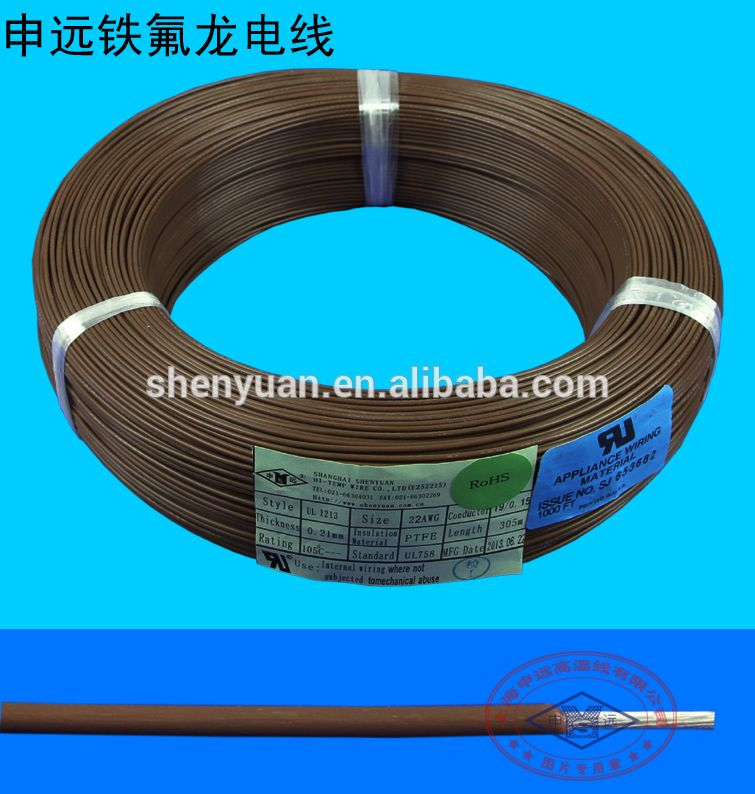 UL1213 PTFE Teflon Insulated Stranded Copper Wire | alibaba ...