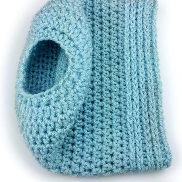 Simplicity Bun Hat free crochet pattern | crochet | Pinterest ...