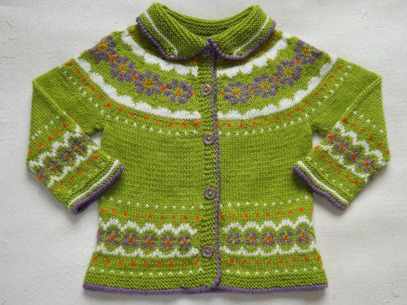 Knit baby jacket baby girls jacket easter gift by triinashandmade knit baby jacket baby girls jacket easter gift by triinashandmade negle Gallery