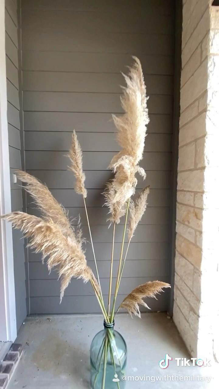 Pampas Grass Fall Decor